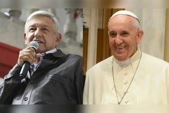 AMLO gustoso de que el papa Francisco se disculpe con humildad