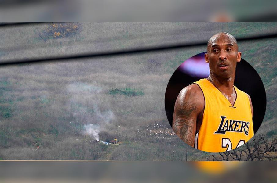 Ya salió video del accidente donde Kobe perdió la vida