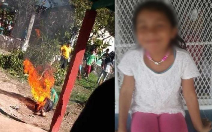 Calcinan a un sujeto por haber violado y asesinado a una niña de 6 años