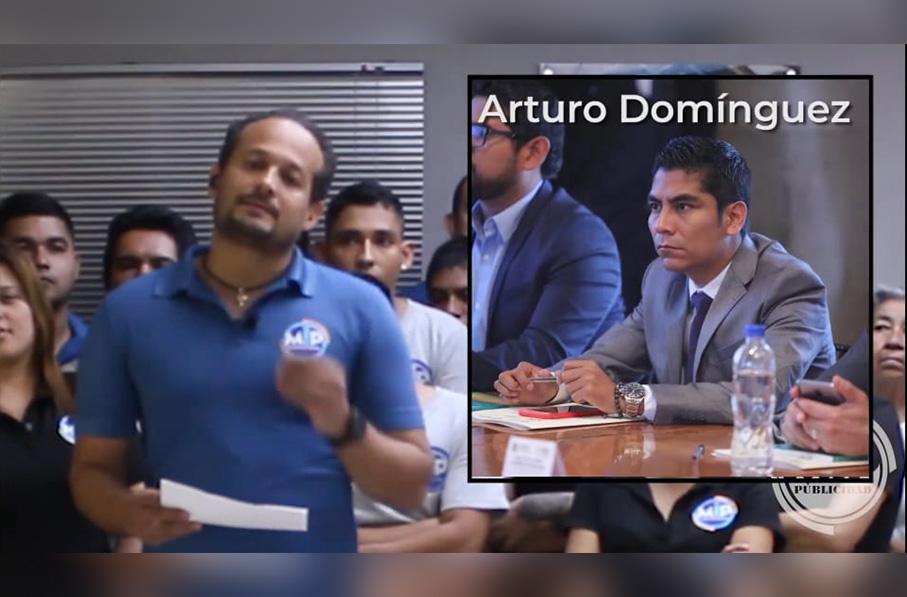 Manuel Arturo Domínguez Galván, se niega a pagar 3 mil pesos