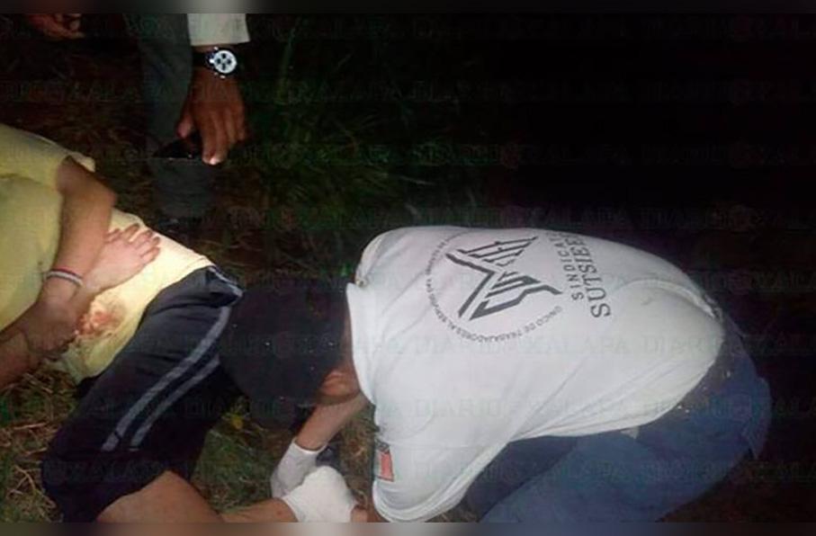 Hombre que intentaba escapar de un anexo en la colonia Veracruz