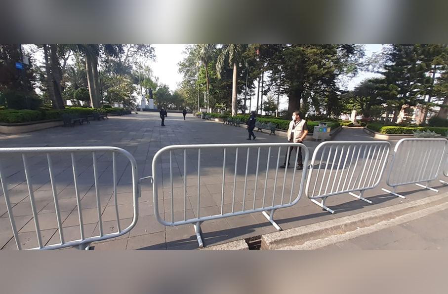Proiben el acceso al parque Benito Juárez en Xalapa