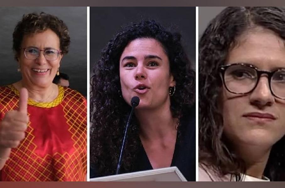 Carnala de Luisa María Alcalde solo la cambiaron de chamba