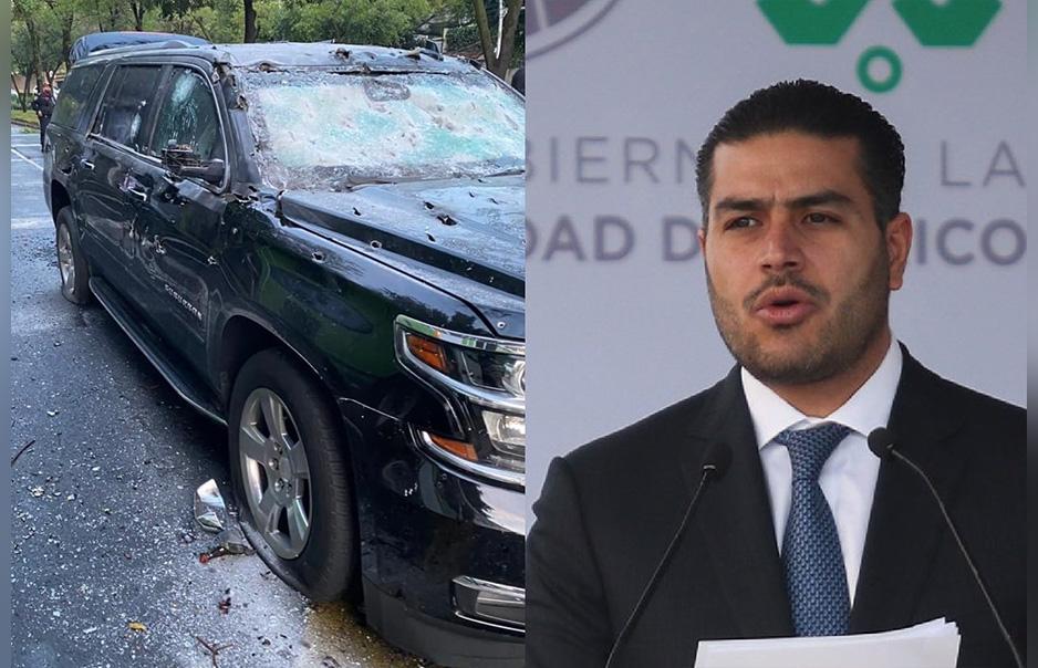 Atentan contra la vida de Omar García Harfuch