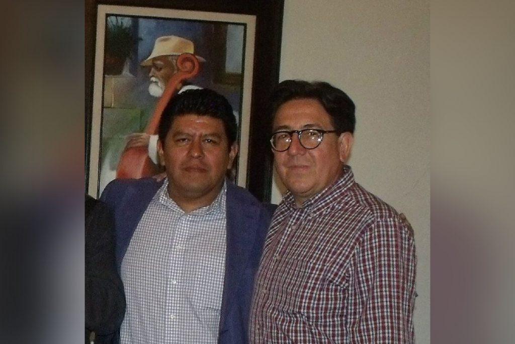 Manuel Antonio Santiago y Armando Ortiz