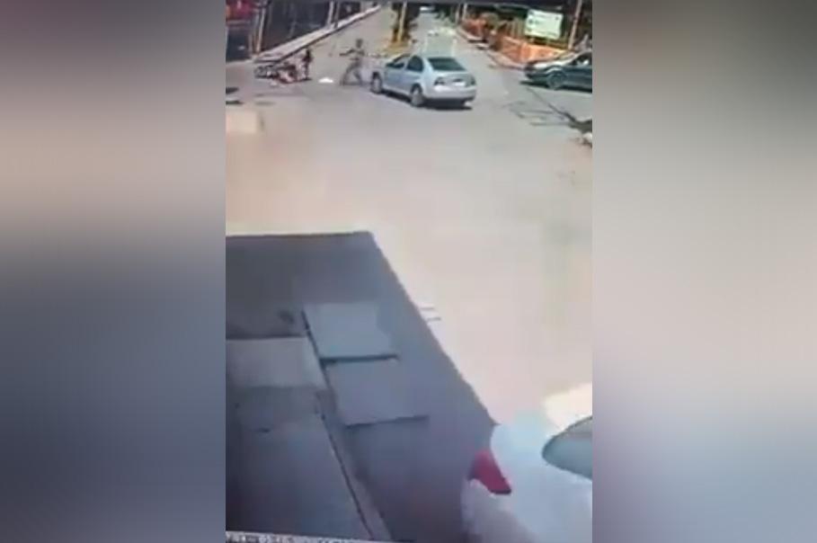 Asesinan a un joven frente a su esposa y su bebe