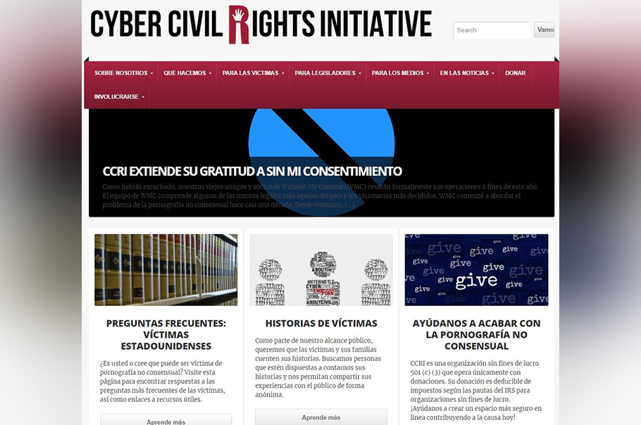 Facebook se une a Cyber Civil Rights Initiative