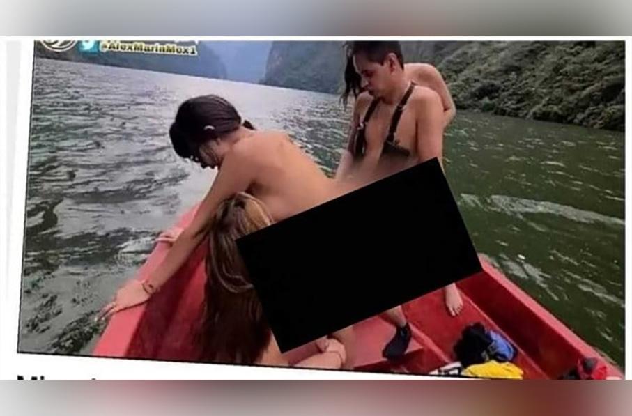 Jóvenes realizan película pornográfica en el Cañón del Sumidero