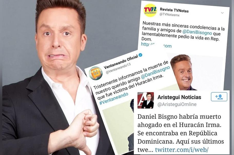 Se viraliza la supuesta muerte de Daniel Bisogno
