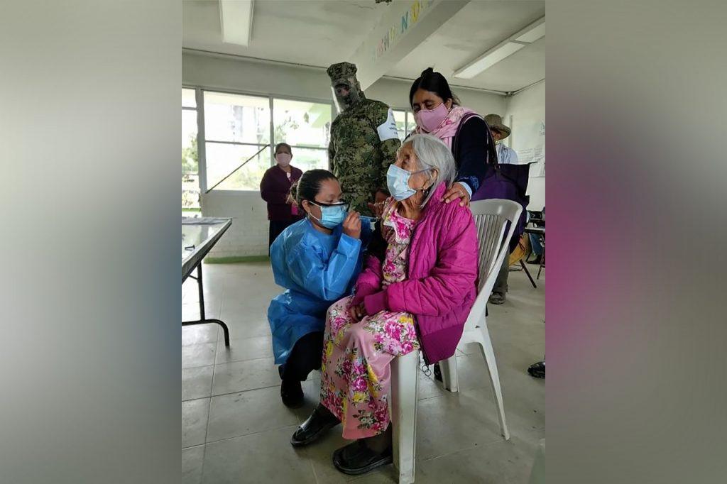 Abuelita de 120 años