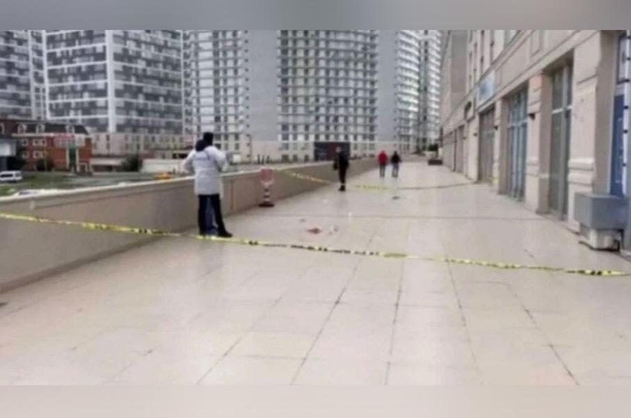 Desde un doceavo piso se lanzó para intentar salvar su teléfono