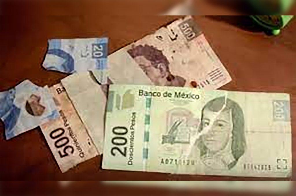 billetes rotos