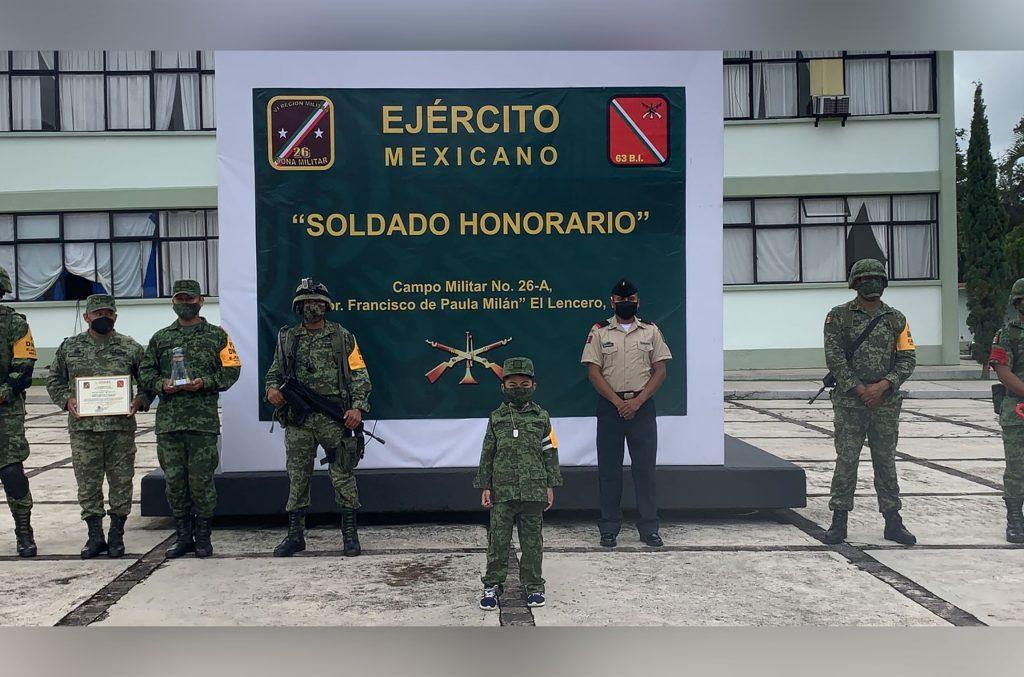 soldado honorario