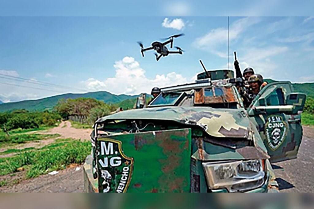 Cartel de Jalisco Nueva Generación utiliza drones