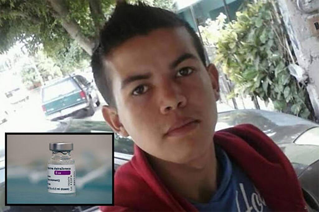 Joven muere horas después de recibir vacuna contra covid-19 en Los Mochis, Sinaloa. Le aplicaron la primera dosis de AstraZeneca
