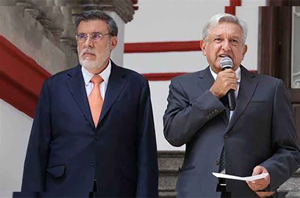 El presidente confirma que Julio Scherer deja de ser el titular de la Consejería Jurídica de la Presidencia; Estela Ríos González tomará el puesto